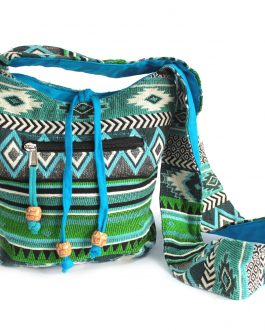 Jacquard Sling Bag from India