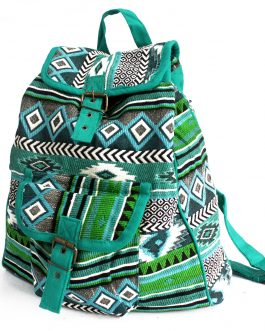 Jacquard Backpack Bag from India