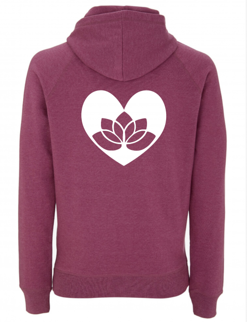 Yoga Hoodie Lotus in Heart 1