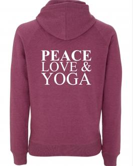 yoga hoodie yegan