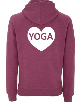 Yoga Hoodie with Heart